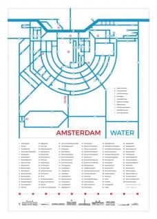 waterkaart-70x50-wit-800